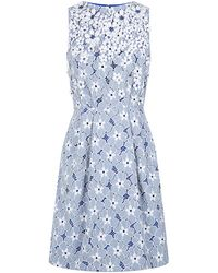 Matthew Williamson Daisy Laceembroidered Dress - Lyst