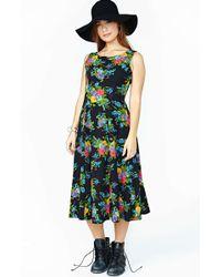 Nasty Gal Betsey Johnson Sunday Maxi Dress - Lyst