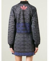 adidas Originals - Track Jacket Dress - Lyst