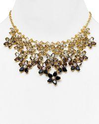 Kate Spade Ombre Bouquet Statement Necklace 18 - Lyst