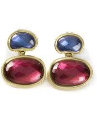 Vaubel Oval Stone Earrings - Lyst