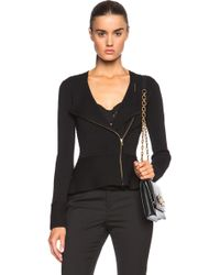 Sass & Bide The Instant Click Knit Jacket black - Lyst