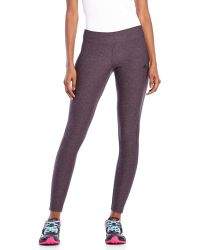 Adidas Charcoal Ultra Tight Performance Leggings - Lyst