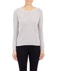 Barneys New York Marled Sweater - Lyst