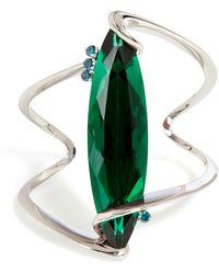 Delfina Delettrez , Stone Edge Bracelet - Lyst