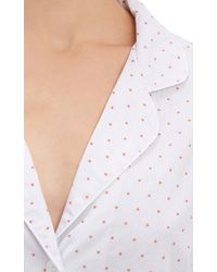Steven Alan - Embroidered Nightshirt - Lyst