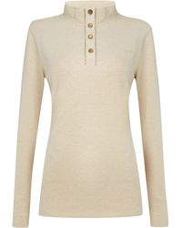 Barbour Braunston Top - Lyst