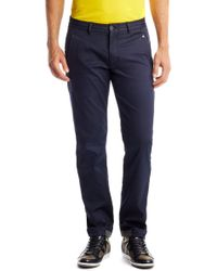 Boss Green Lautner | Regular Fit, Cotton Blend Pants - Lyst