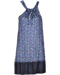 Coast Blue Short Dress - Lyst