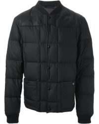 Lanvin Black Quilted Jacket - Lyst
