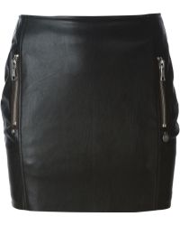 Urbancode - Faux Leather Skirt - Lyst