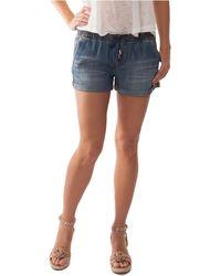 Dittos Sienna Roll Cuff Shorts - Lyst