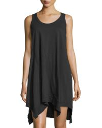 Jethro - Scoop-neck Racerback Tank Dress - Lyst