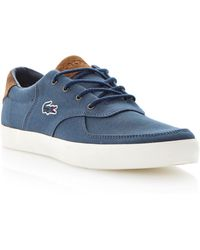 Lacoste Glendon 8 Lace Up Contrast Trainers - Lyst