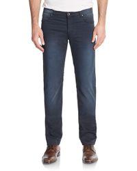 Versace Jeans Slim-Fit Straight-Leg Jeans - Lyst