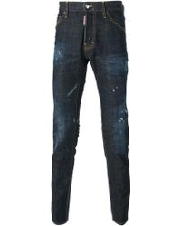 DSquared2 Slim Fit Jeans - Lyst