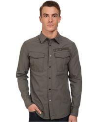 G-Star RAW Rovic Combat Long Sleeve Shirt - Lyst