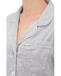 Steven Alan - Cotton Pajama Shirt - Lyst