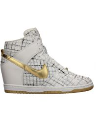 Nike Dunk Sky Hi Qs City (Paris) white - Lyst