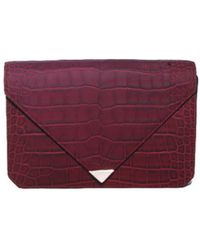 Alexander Wang Beet Prisma Envelope Bag - Lyst