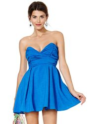 Nasty Gal Sapphire and Vice Dress - Lyst