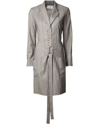 Alaïa Tailored Shirt Dress - Lyst
