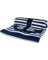 Black.co.uk Marine Anchor Egyptian Cotton Beach Towel - Lyst