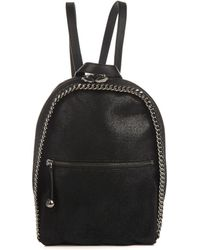 Stella McCartney Falabella Fauxsuede Backpack - Lyst