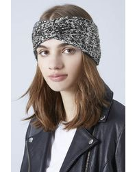 TOPSHOP - Twisted Headband - Lyst