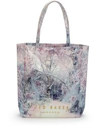 Ted Baker Icon Snow Blossom Shopper - Lyst