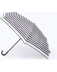 Zara White Striped Umbrella - Lyst