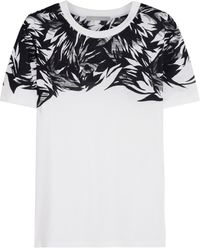 Jason Wu Printed Cotton and Modalblend Tshirt - Lyst