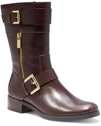 Michael Kors Gansevoort Leather Boot - Lyst