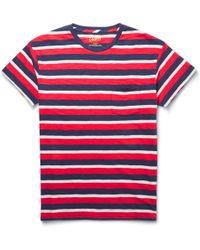 Grayers - Striped Cotton-Jersey T-Shirt - Lyst