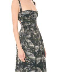 DSquared² Palms Printed Dress - Lyst