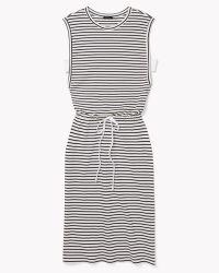 Theory Caniel C Dress In Classic T Stripe - Lyst