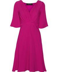Gucci Silk-cloqué Dress - Lyst