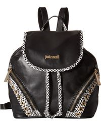 Just Cavalli - Pois Printed Leather - Lyst