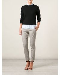 Dondup Slim Fit Trousers - Lyst