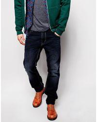 Diesel Jeans Krayver Slim Tapered Fit 837K Dark Wash - Lyst