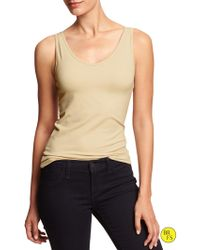 Banana Republic Factory Scoop And Vee Camisole - Lyst