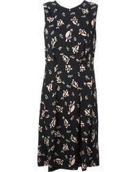 Marni Leaves Printed Dress - Lyst