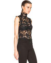 ThePerfext - Sabrina Crochet Lace Sleeveless Top - Lyst