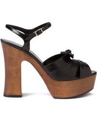 Saint Laurent Candy Platform Sandals - Lyst
