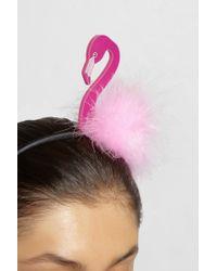 Piers Atkinson - Tropical Flamingo Headband - Lyst