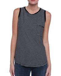 Ever Striped Pocket Tank Top - Lyst