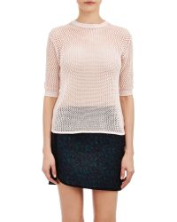 Alexander Lewis - Open-Work Stitch Sweater - Lyst
