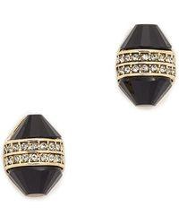 House of Harlow 1960 - Corona Crystal Stud Earrings - Lyst