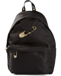 Versus  Safetypin Backpack - Lyst
