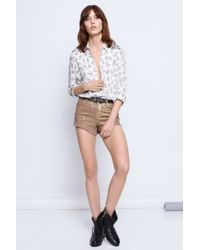 Zadig & Voltaire Tiano Print Manga Deluxe Shirt - Lyst